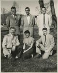 Class Officers, 1955: Seniors