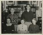 Class Officers, 1955: Sophomores