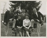Class Officers, 1957: Sophomores